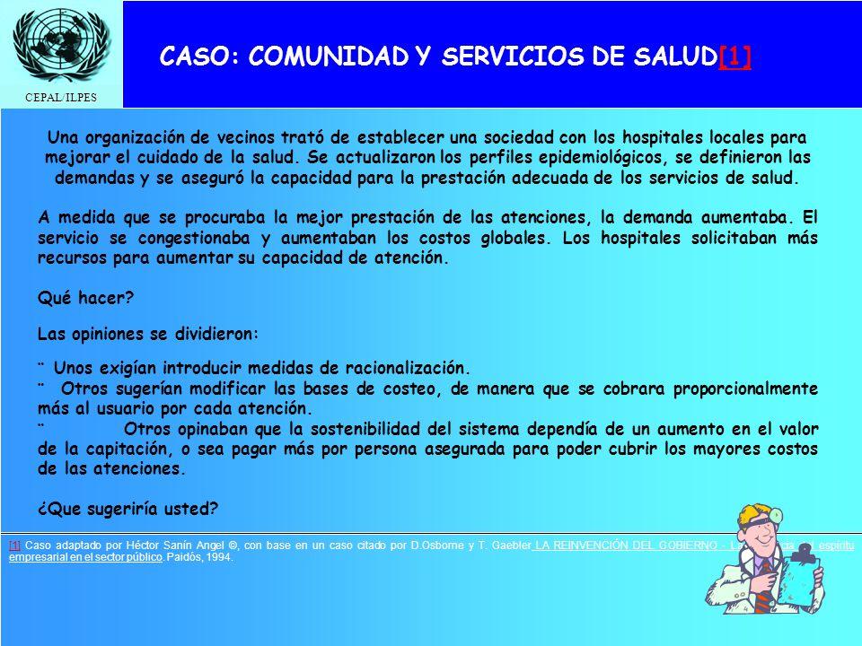 CASO: COMUNIDAD Y SERVICIOS DE SALUD[1]
